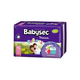 Pañales Premium Colores para bebés entre 12 y 16 kilos