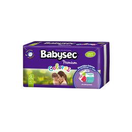Pañales Premium Colores para bebés entre 9 y 12 kilos