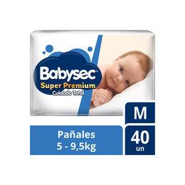 Pañales Súper Premium de 5 a 9,5 kg.