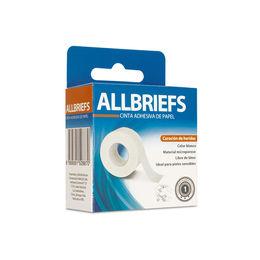 Cinta adhesiva de papel para curaciones color blanco