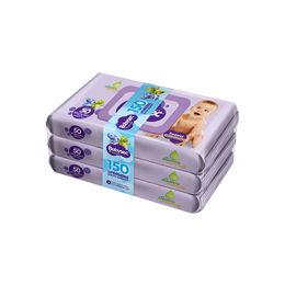 Pack de 150 Toallitas Humedas (50 Uni c/u)