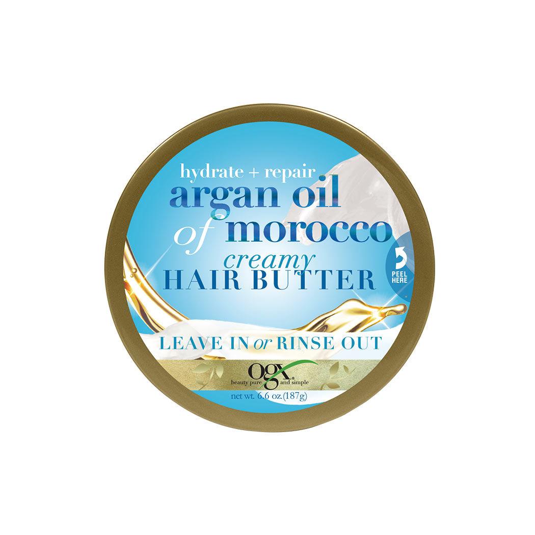 Crema reparadora capilar de aceite de argán para la hidratación