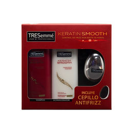 Pack shampoo y acondicionador Keratin Smooth para control de frizz