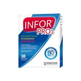Suplemento Alimentario con vitaminas, minerales y probioticos
