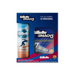 Estuche Desodorante Spray Sport y Repuestos