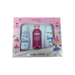 Estuche Simple Pink (Emulsionado, Shampoo y Loción)