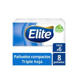 Elite Pañuelo Compacto con Aloe Vera y Vitamine E