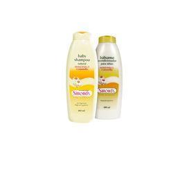 Pack de shampoo y bálsamo de manzanilla
