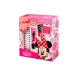 Estuche Minnie Beauty set y sticker