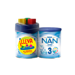 Pack NAN 3 Junior
