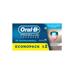 Pack de dos pastas dentales Menta Refrescante
